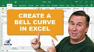 Learn Excel from MrExcel - Create A Bell Curve in Excel - Podcast #1663