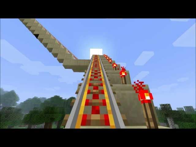 Minecraft-die-längste-achterbahn