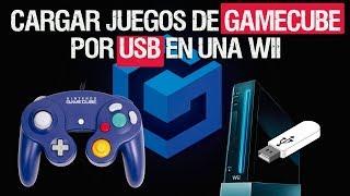 Como cargar juegos de GAMECUBE por USB en una WII | [Nintendont] 2017