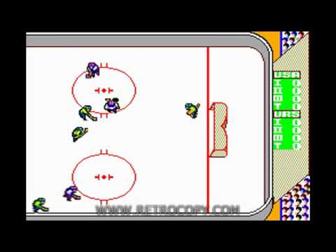 Great Ice Hockey (Sega Master System) - RetroCopy Intro