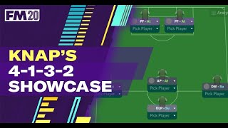 FM20 Tactics | Knaps 4-1-3-2 Showcase