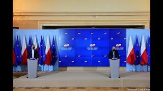 KP. Konferencja Ministra Zdrowia Adama Niedzielskiego w KPRM