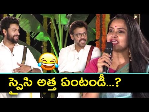 Venkatesh & Varun Fun with Actress Pragathi about her Character in F2 Movie | Silver Screen