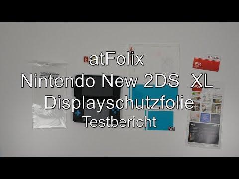 Testbericht: @Folix Nintendo New 2DS XL Displayschutzfolie (atFolix)