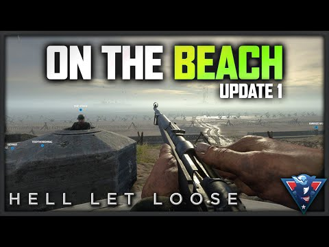 RETAKING THE BEACH | Hell Let Loose Gameplay