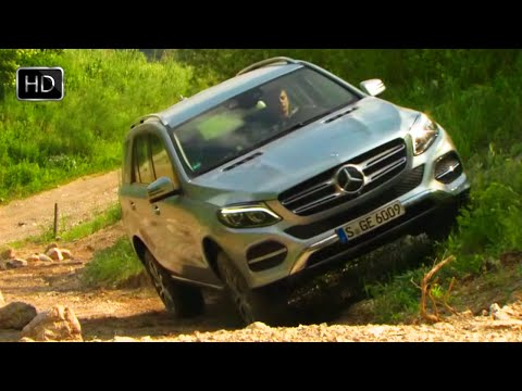 2016 Mercedes-Benz GLE-Class GLE400 4MATIC SUV OFF ROAD TEST HD
