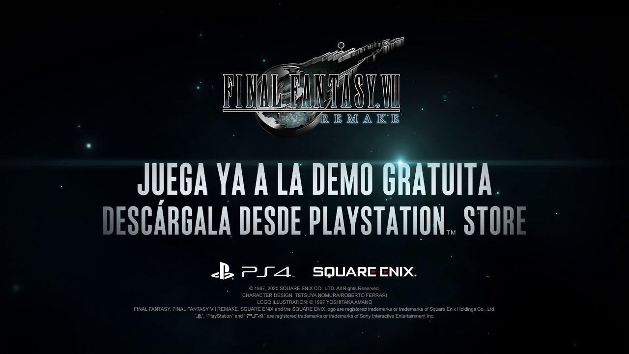 ¡¡Ya está aquí la demo de Final Fantasy VII Remake!!