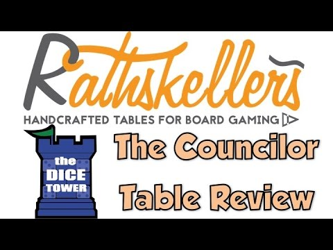 Dice Tower Reviews: Rathskellers Councilor Table