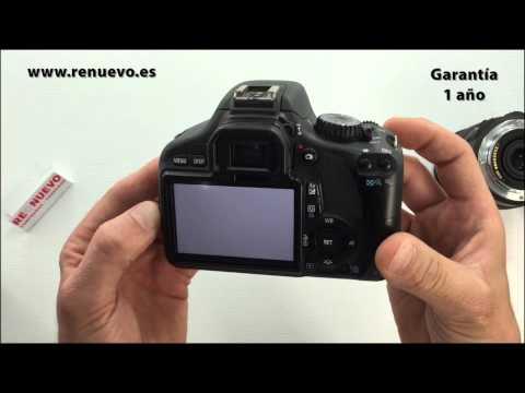 Comprobación del sensor de una cámara digital réflex de segunda mano