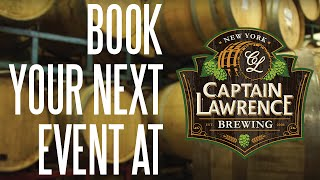 Book Your Next Private Event at Captain Lawrence!