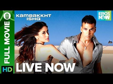 Download Kambakkth Ishq   Full Movie LIVE on Eros Now   Akshay Kumar, Kareena Kapoor, Amrita Arora & Aftab HD Mp4 3GP Video and MP3