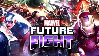 MARVEL FUTURE FIGHT - ПЕРВЫЙ ВЗГЛЯД - КРУТАЯ ИГРА
