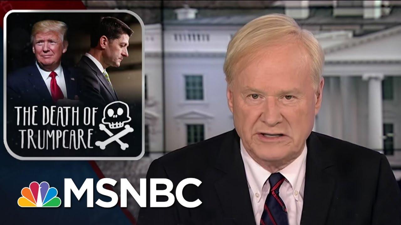 Chris Matthews: The GOP Choked With Health Care Bill | Hardball | MSNBC thumbnail