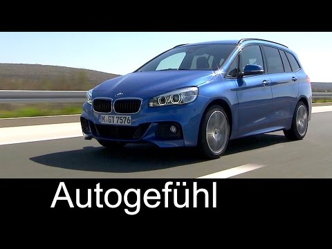 Driving & Interior preview all-new BMW 2-Series Gran Tourer 2er 220d & 220i - Autogefühl