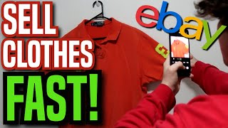 How To Sell Clothes FAST on EBAY! | 2021 Step By Step Guide