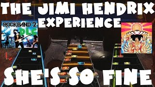 The Jimi Hendrix Experience - She's So Fine - Rock Band 2 DLC Expert Full Band (March 30th, 2010)