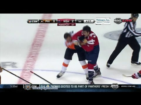 Brayden Schenn vs Tom Wilson