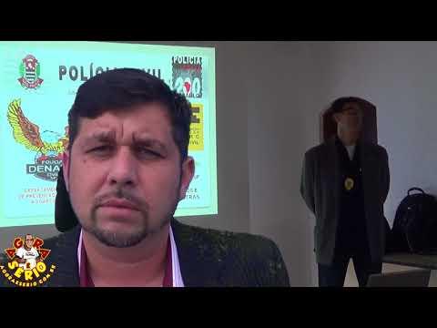 Thiago Presidente do COMAD - O Conselho Municipal sobre Drogas realiza Curso Gratuito