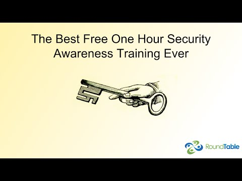 The Best Free One Hour Security Awareness Training Ever - YouTube