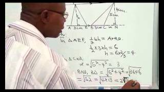 PLANE GEOMETRY (TRIANGLES, POLYGONS AND LINES)