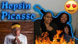 HE SO CUTE😍 Hopsin   Picasso REACTION | Teacup And BB