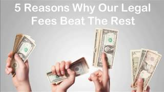 5 Reasons Our Legal Fees Beat The Rest