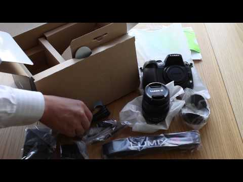 Panasonic GH3 Part1 Unboxing DMC GH3 & LUMIX G X VARIO 12 35mm F2 8