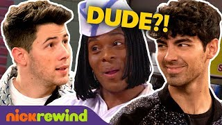 Jonas Brothers Find Their New Sound At Good Burger! 🍔 Ft. Kel Mitchell | NickRewind
