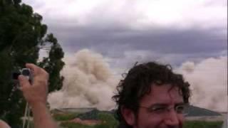 preview picture of video 'Implosione edificio exAlitalia Selva Candida'