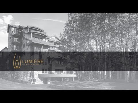 Lumiere Hotel, Telluride Video #1 by ICE Design www.icedesign.com