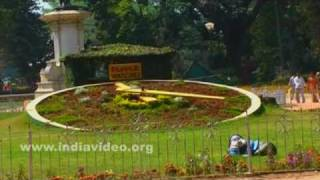 Flower clock of Lal Bagh Botanical Garden, Bangalore