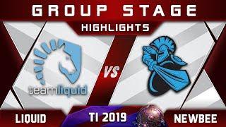 Liquid vs Newbee TI9 The International 2019 Highlights Dota 2