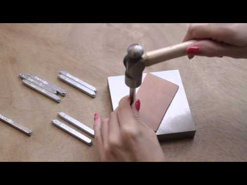How to do Leather Stamping