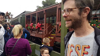 Knotts Berry Farm Calico Train on the Railroad w/Robbers!
