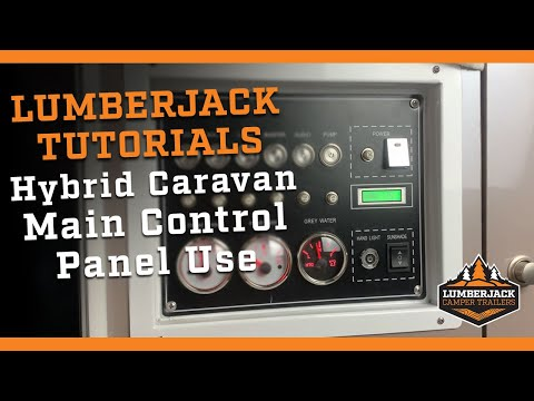 Hybrid Caravan Control Panel Operation