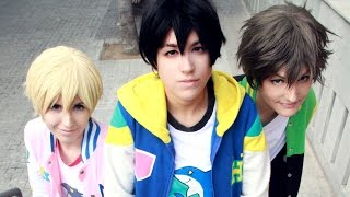 CHATROULETTE #4 Free! Cosplay [Haru, Makoto & Nagisa]
