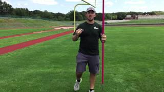 Javelin Throw | The 3 Step Approach | www.EliteThrowsCoaching.com