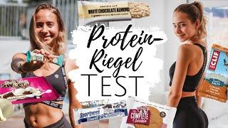 ICH TESTE ÜBER 25 PROTEINRIEGEL &COOKIES - Supermarkt, Marken, Vegan,.. // annrahel