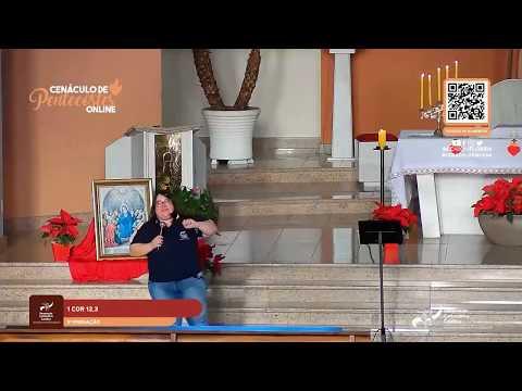 3ª Pregação e Adoração do Cenáculo de Pentecostes On-line | Thais Furquim e Pe Leandro Rech