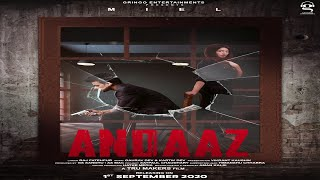 Andaaz (Motion Poster) | Miel | Mahira Sharma | Gringo Entertainments | Latest Punjabi Songs