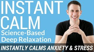 Deep Relaxation Hypnosis for Stress Relief, Anxiety Relief, and Instant Calm (Science-Based)