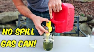 No Spill Gas Can!