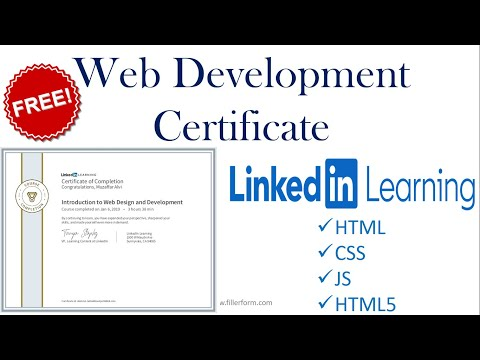 Web development Free Courses Online With Certificates | Web development Courses #Webdevelopment
