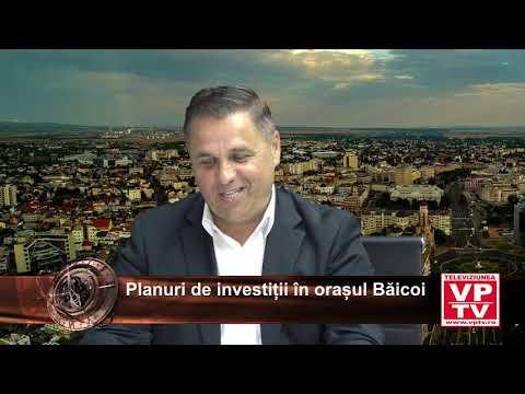 Planuri de investiții în orașul Băicoi