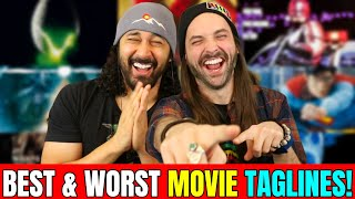 Best & Worst Movie TAG-LINES! (And Some Reel Reject Puns) by The Reel Rejects