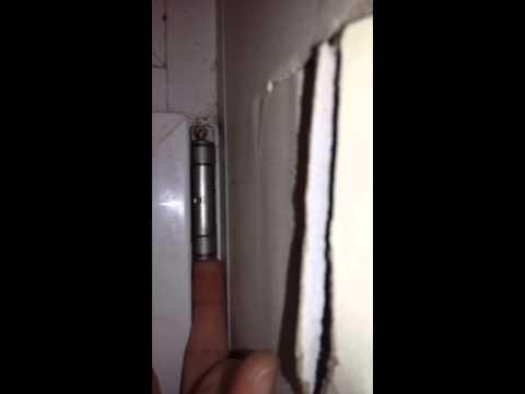 Как снять балконную дверь(1)