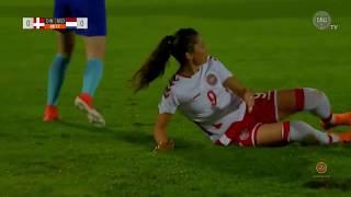 Denmark Vs. The Netherlands ∞ Algarve Cup 2018