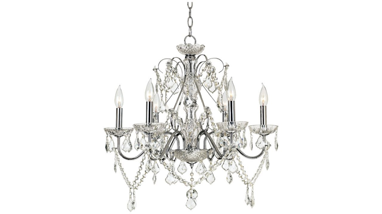 "Vienna Full Spectrum™ 23 1/2""W Crystal Chandelier"