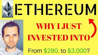 ETHEREUM NEWS! About To Jump [ETH Price Prediction] Ethereum Going From $280. To $3,000?