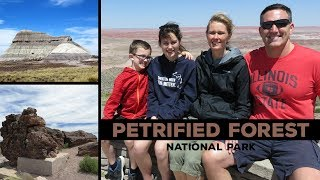 Petrified Forest National Park - The Painted Desert (Vlog/Park #14)